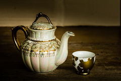 Still life with teapot Stock Photo
