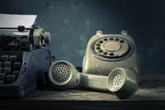 Still life telephone Royalty Free Stock Photos
