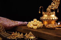 Still life thai traditional dress Royalty Free Stock Photography