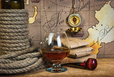 Still life with things leisure and travel Royalty Free Stock Photography