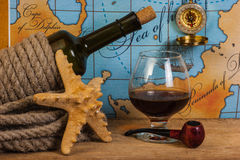 Still life with things leisure and travel Royalty Free Stock Photos