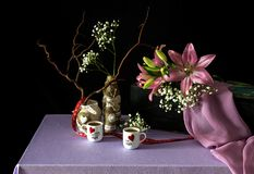 Still life to day of Valentine Royalty Free Stock Photography