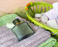 Still Life with toiletries Stock Images