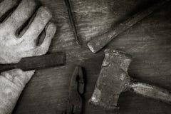 Still life of tools Stock Image