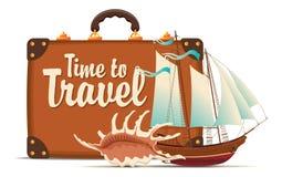Still life on tourist theme Stock Photo