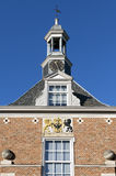 Still life of Town gate the Waterpoort, city Tiel Royalty Free Stock Images