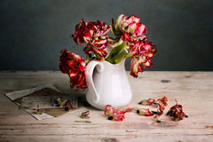 Still Life with Tulips Stock Photo