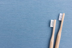 Still-life with two toothbrushes Stock Images