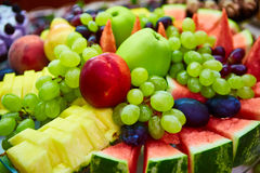 Still life - various, assorted fruits. Royalty Free Stock Photo