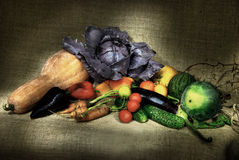 Still-life from vegetables Royalty Free Stock Photography