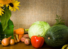 Still life with vegetables Stock Photography