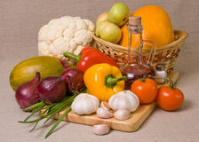 Still-life with vegetables Stock Photography