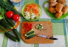 Still life of vegetables Stock Photos