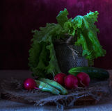 Still life with vegetables Royalty Free Stock Image