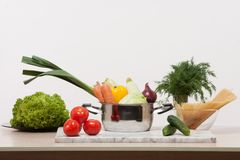 Still-life with vegetables Royalty Free Stock Images