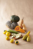 Still life of vegetables mixed Royalty Free Stock Images