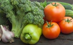 Still life vegetables Stock Photos