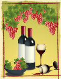 Still_life_with_vine Stock Images