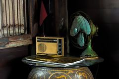 Still Life with vintage household appliances. Royalty Free Stock Photography