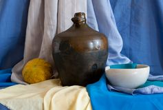 Still life of vintage household items. See my other works in portfolio Royalty Free Stock Images