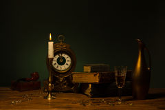 Still life with vintage objects Stock Photography