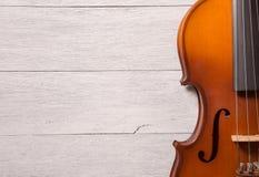 Still life of vintage violin Royalty Free Stock Photography