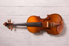 Still life of vintage violin Royalty Free Stock Photo