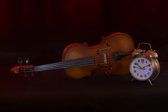 Still life with Violin Stock Photos