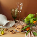 Still life with walnuts and pears Stock Photography