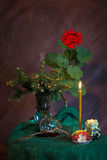 Still life, a warm, cozy evening Royalty Free Stock Photography