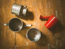 Still life watering pot Stock Image