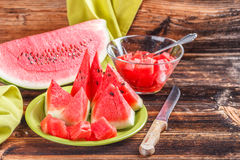 Still life of watermelon Stock Photography