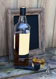 Still life with whiskey Royalty Free Stock Image