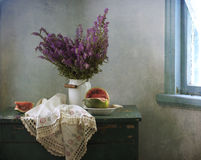 Still life at a window Royalty Free Stock Photos