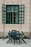Still life with window. royalty free stock photo