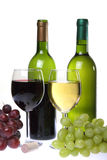 Still-life with wine Stock Images