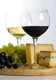 Still life with wine Stock Photography