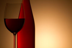 Still-life with the wine glass Royalty Free Stock Images