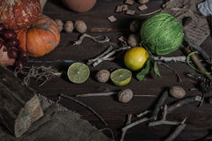Still life witch Royalty Free Stock Photography