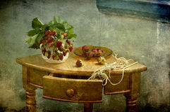 Free Still Life With A Strawberry Stock Photos - 19973393