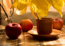 Still Life With Coffee Cup Royalty Free Stock Photo