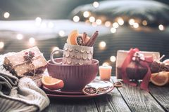 Free Still Life With Home Christmas Decor Royalty Free Stock Photography - 127491667