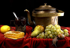 Free Still Life With Kettle Royalty Free Stock Image - 12965106
