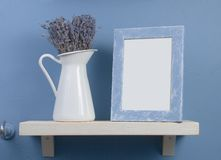Free Still-life With Lavender And Frame Royalty Free Stock Images - 12780849