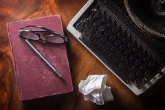 Still life writer or authur tools. Stock Photography