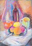 Still Life Wth Tea Pot Royalty Free Stock Image