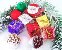 Still objects santa claus Royalty Free Stock Photo