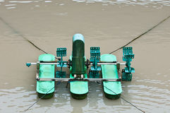 Still Sewage Water Spin Machine Stock Photography