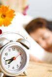 Still  sleeping Stock Images