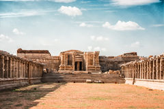 Still Standing. Its been taken in Hampi royalty free stock photos